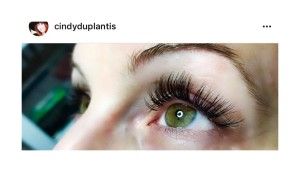 Cindy Duplantis is an FCL lash addict